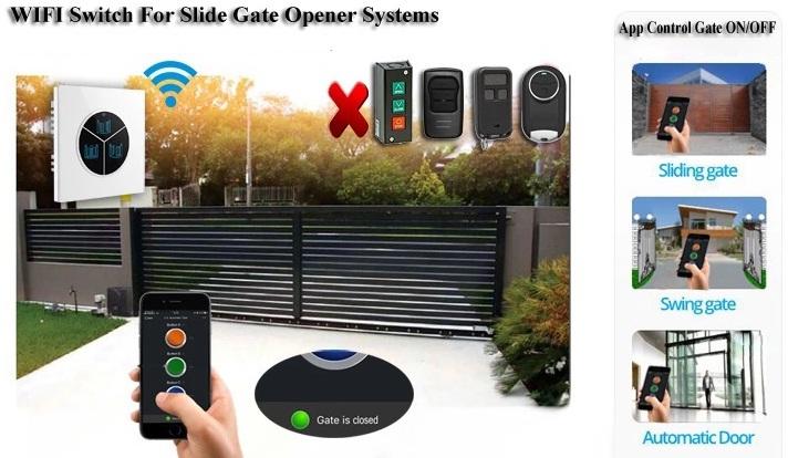 wifi control automatic gate
